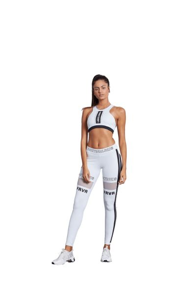 Labellamafia Leggings Bodybuilding White