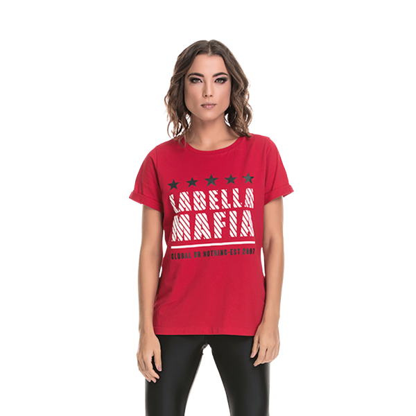 Labellamafia Shirt We're In Control Red