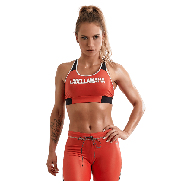 Labellamafia Sport-BH Bodybuilding Red