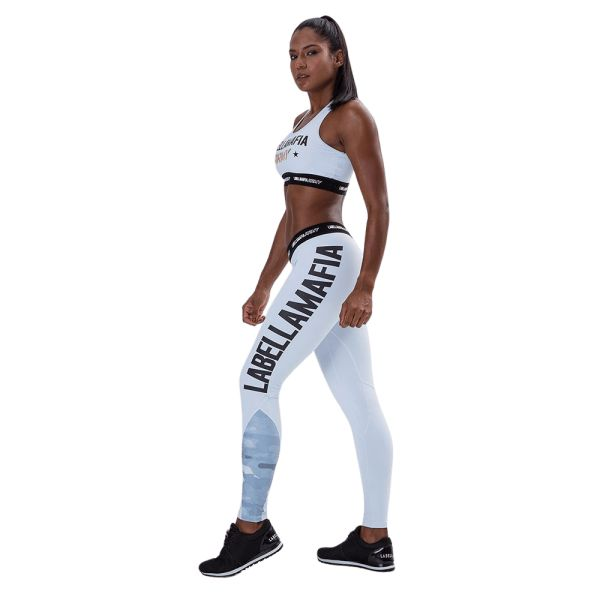 Labellamafia Fitness Leggings LBM Army