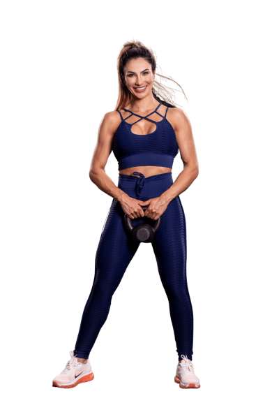 Oxyfit Leggings Track Blue