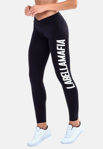 Labellamafia Leggings Essentials Hardcoreladies Black