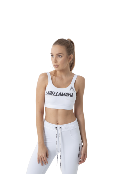 Labellamafia Sport-BH Triangle White